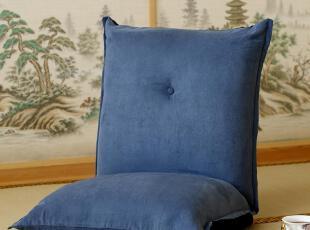 卡娜芙生活 日式榻榻米懒人沙发布艺单人厚实座椅电脑椅特价,沙发,