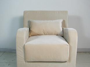 艾米尼奥地中海家具-布艺沙发 时尚客厅沙发 单人沙发A1-054,沙发,