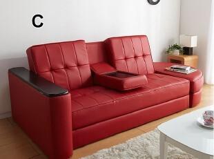 新款 出口日本原单 宜家风格 带储物沙发 折叠沙发床 双人沙发,沙发,