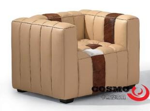 时尚沙发/沙发/皮沙发/真皮沙发/办公沙发/单人沙发 P1011-1,沙发,