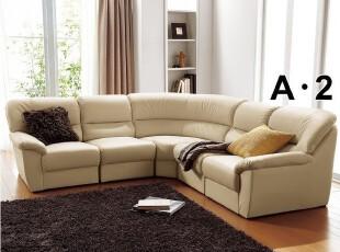 出口日本原单沙发 组合沙发 转角沙发 皮艺沙发 客厅沙发皮沙发,沙发,