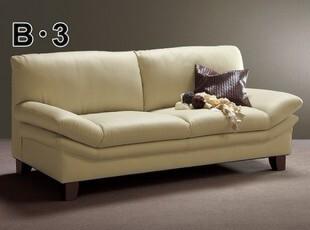 日式沙发 多功能折叠沙发 双人皮艺沙发 真皮沙发 小户型沙发,沙发,
