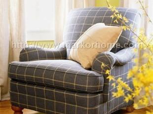 传统风格-伊森艾伦-美国经典系列-单人沙发,沙发,