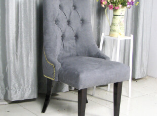 艾米尼奥欧式现代时尚创意百搭白色布艺特价单人沙发餐椅D054-1,沙发,