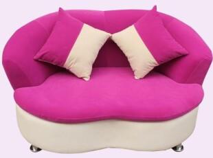 简约布艺 沙发椅电脑椅 个性创意小沙发  时尚单双人嘴唇沙发椅,沙发,