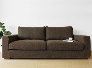 木聪良品家具 日式实木北欧现代风格 白橡木布艺沙发小户型SF-807,沙发,