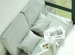 卡宜拉.麂皮绒懒人沙发垫,飘窗垫,坐垫,靠垫,地垫,海绵,定做.浅蓝,沙发,