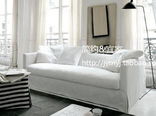 简约&宜家 2012特价款 简约 时尚 现代 三人羽绒 布艺沙发 欧罗巴,沙发,