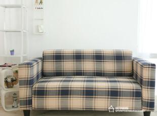 宜家风格现代布艺组合双人小户型沙发江浙沪包邮,沙发,