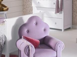 注重环保 儿童沙发 幼儿沙发布艺沙发小沙发宝宝椅子小孩凳子紫色,沙发,