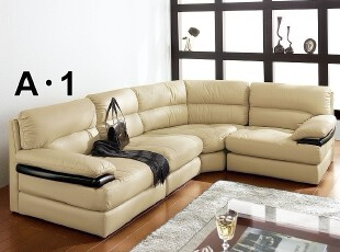 出口日本原单 皮艺沙发 宜家风格 客厅转角沙发 组合沙发,沙发,