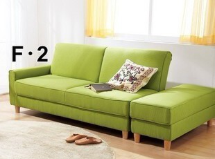 日式风格 多功能折叠沙发床 双人沙发 布艺沙发 小户型沙发,沙发,