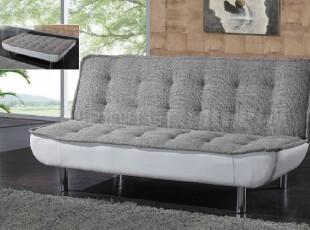 简适.轩 新品布艺皮艺沙发床 双人沙发 折叠沙发床 小户型沙发,沙发,