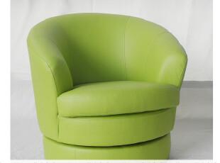 热销/出口外单/单人/儿童360度旋转沙发/皮质/浅绿色,沙发,