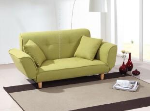布艺双人沙发 小沙发 折叠沙发床 小户型沙发 卧室沙发 送抱枕,沙发,