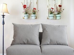 不凡bekvam日式棉麻布艺沙发双人小户型宜家时尚简约客厅地板602,沙发,