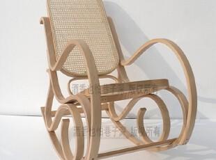 实木藤编摇椅 藤摇椅/逍遥椅/摇椅/躺椅/老人椅/木质摇椅/休闲椅,沙发,