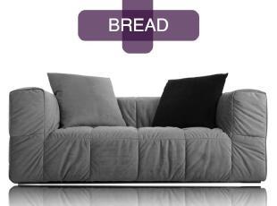 如恩 沙发双人位沙发懒人沙发布艺沙发简约现代组合沙发 BREAD,沙发,