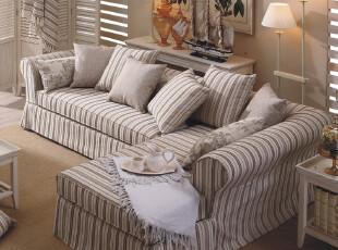 地中海风格家具 沙发组合 客厅布艺沙发 转角沙发 现代沙发布艺,沙发,