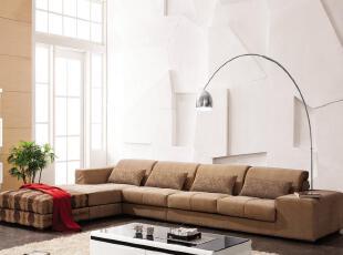 卡尔适 布艺转角组合 现代简约时尚 客厅沙发 品牌家具A010,沙发,