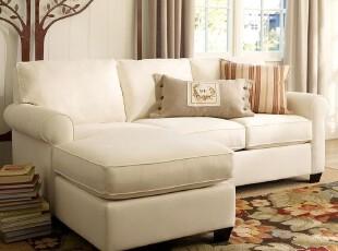 沙发/宜家三人沙发/地中海布艺沙发/美式可定制沙发/全拆洗布艺沙,沙发,
