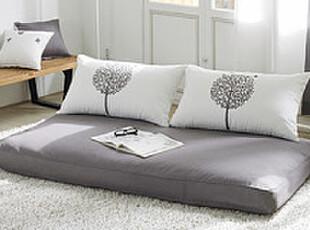 冲2钻韩国进口家居 家具 适用韩版 可爱卡通树 灰色浪漫 懒人沙发,沙发,