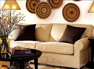 促销美式乡村 特价 三人沙发 布艺 地中海 田园布艺沙发 组合沙发,沙发,