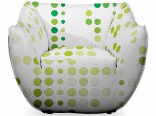 Sofapop 布艺沙发 简约北欧 艾思单人位 进口打印 多色33A0005,沙发,