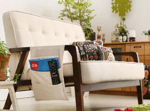 思捷家居 地中海小户型布艺单人双人沙发 宜家田园沙发组合 sofa,沙发,