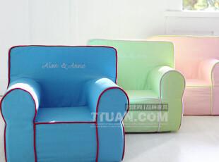 艾伦艾妮 糖果色儿童家具 Marcia 玛西亚 儿童小沙发 小椅子,沙发,