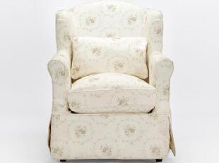 欧式田园碎花 布艺沙发 单人沙发 时尚沙发 [S0029-1],沙发,