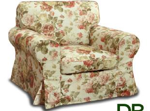 百伦沙布艺沙发/客厅单人位/卧室沙发/宜家/北欧/可拆洗,沙发,