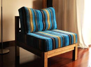 宜家风格出口欧洲实木家具橡木柞木环保组合沙发幻影:单椅,沙发,