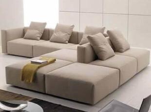 装典 现代 简约 布艺 沙发 欧陆 沙发 组合转角 S07,沙发,