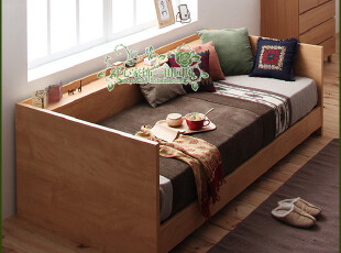 *皇冠* 上海到付!【舒心】快乐的单身族 多功能沙发床(BED-08),沙发,