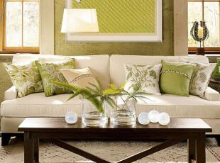 年中大促艾米尼奥家具地中海促销米咖布艺三人沙发可送货上门E418,沙发,