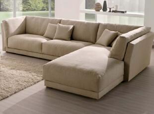 驰辰客厅沙发组合沙发高档沙发布艺沙发休闲沙发 左扶+右踏 906,沙发,