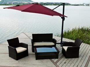 特价沙发桌椅 户外桌椅庭院休闲家具组合藤编咖啡酒店桌椅 送坐垫,沙发,