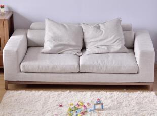 中高端出口沙发 深灰色和米白色 羽绒坐垫 鹅毛靠垫,沙发,