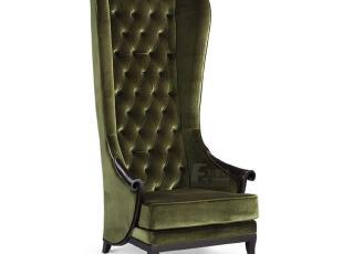 为家居 米兰风尚 新古典贵妃椅 国王椅 新品上市 高靠背椅,沙发,