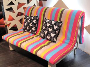 卡布奇 特价单人双人 宜家布艺多功能沙发 1.2米多功能折叠沙发床,沙发,