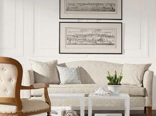 美式 美家  实木沙发 EA款3-3 家具定制 外单 外贸,沙发,