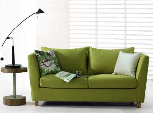 悠士风 布艺双人沙发 宜家风格 小户型沙发 特价包邮 ES2001,沙发,