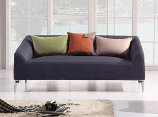 悠士风 棉麻面料布艺沙发 现代客厅小户型组合三人沙发ES1033,沙发,