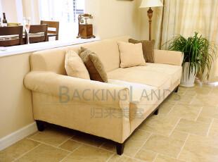 美式乡村经典时尚简约流金十年-名仕系列三人沙发 定制特价,沙发,