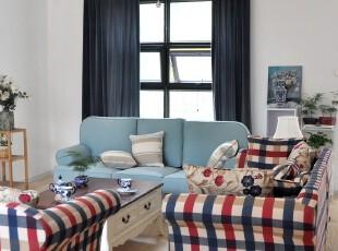 粤鑫家居 地中海沙发 美式沙发 混搭 简约 宜家 客厅组合沙发bbb,沙发,