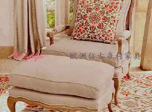 现货~出口欧洲克里克文藤木组合橡木实木沙发椅扶手椅休闲椅-多色,沙发,