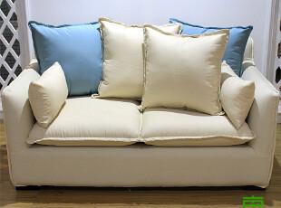 东居 包邮 宜家 地中海 田园 布艺沙发组合特价沙发套装 多色,沙发,