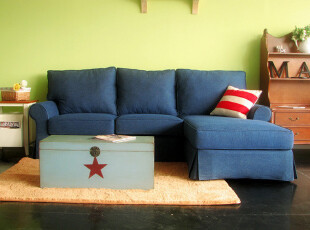 2012新品布艺沙发 牛仔布多人位沙发L型转角沙发01,沙发,