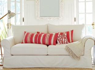 组合客厅沙发特价布艺宜家地中海欧式小户型单人直销家私家居田园,沙发,